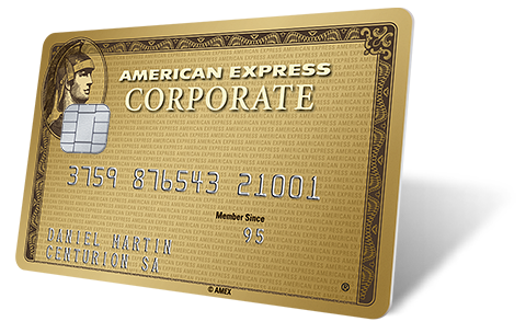 The Gold Corporate Card