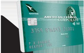 Carte American Express Qantas.Qantas Corporate Green Card Amex Corporate Au