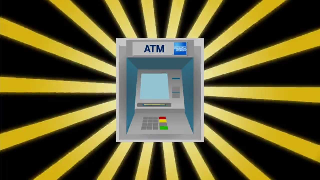 The American Express ATM locator