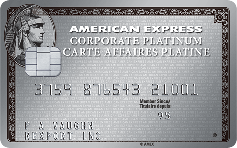 Corporate card american express canada american express corporate platinum card colourmoves