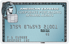 corporate purchasing card
