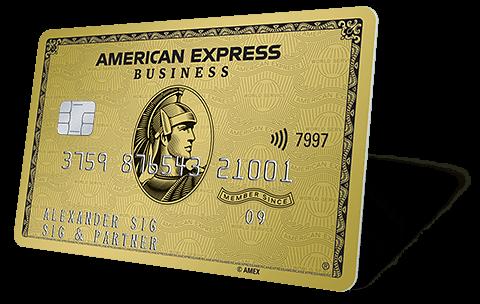 Willkommen bei American Express - Ihre Business Gold Card
