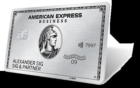 Vorteile & Services der Business Platinum Card  AMEX DE