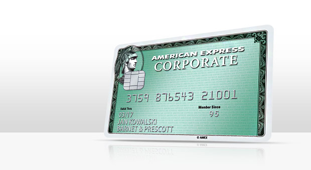 Corporate Card Banner