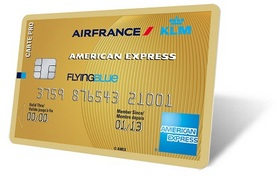 Votre Carte PRO AIR FRANCE KLM - AMERICAN EXPRESS GOLD