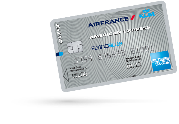 Carte PRO AIR FRANCE KLM - AMERICAN EXPRESS SILVER