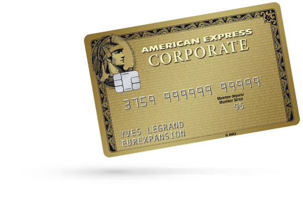 Carte Corporate Gold American Express