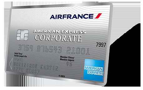 Frais Carte American Express Etranger.Client Carte Corporate Air France American Express