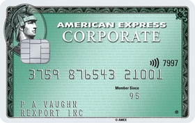 Carta Corporate American Express