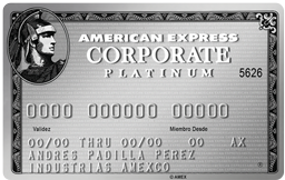 Platinum Corporate Card AMEX