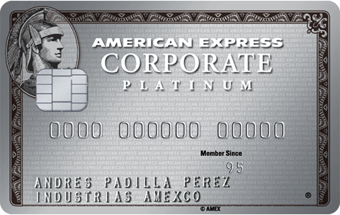 American Express® Corporate Platinum Corporate Card