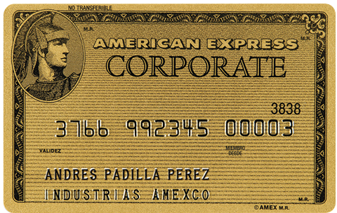 American Express® Gold Corporate Card