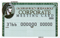Corporate Meeting Card