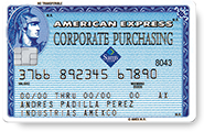 American Express® Corporate Purchasing Card SAM's Club