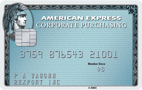 Corp purchasing card