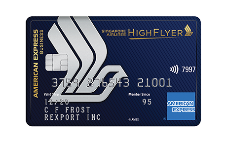 Singapore Airlines High Flyer Card
