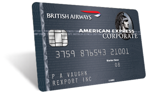 british airways amex corporate card plus benefits