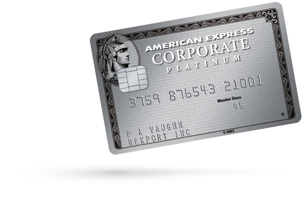 Corporate card programs payment solutions american express corporate platinum card reheart Choice Image