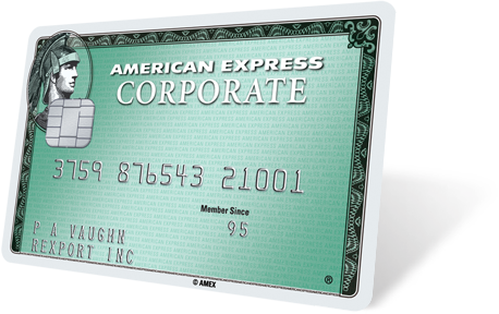 welcome to the american expresscorporate green card - American Express Business Credit Card