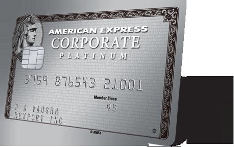 American Express Corporate Platinum Card American Express Global