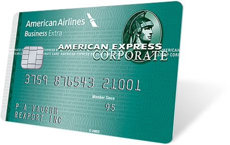 American express aa business extra card american express global american express business extra corporate card reheart Image collections