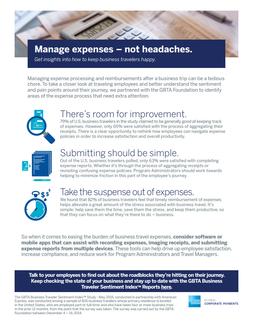 manage expenses not headaches the new business traveler