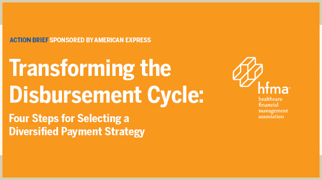 Transforming the disbursement Cycle